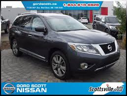 nissan pathfinder 2013 2013 nissan pathfinder platinum 4wd used for sale in leather dvd