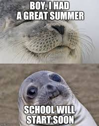 Summer School Meme - the horror imgflip