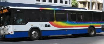 Hawaii travel bus images Honolulu 39 s public transit to expand green minded portion of oahu jpg