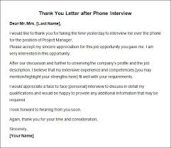 tutorials write thank you letter after an interview thank you note after phone interview