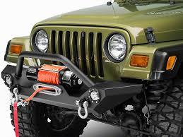 2000 jeep bumpers wrangler tj barricade front bumper install jeepfan com