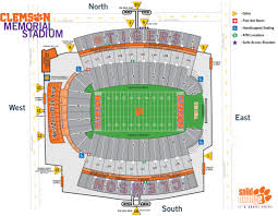Clemson University Map First Time Visitor Fan Guide Clemson Tigers Official Athletics Site