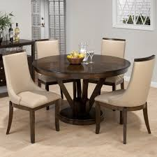 5 piece dining set round table