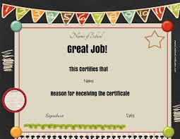 free printable certificate of recognition car rental receipt