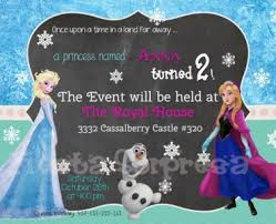 frozen birthday invitation wording gallery invitation design ideas