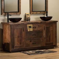 Rustic Vanity Table Timber Frame Barnwood Vanity Barnwood Bathroom Vanities Rustic