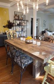 A Tour Of Lia Griffiths Home The Dining Room - West elm emmerson reclaimed wood dining table