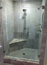 34 Shower Door Bathroom Rustic Nuance Of Shower Booth Design With Frameless 3 4