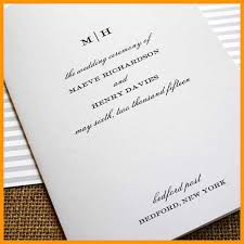 wedding bulletin covers 7 wedding programs covers lease letter