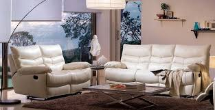 White Leather Recliner Sofa Sofa And Recliner Sets Home And Textiles