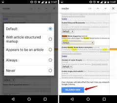 text reader for android how to enable reader mode in chrome for android beebom