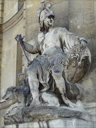 God Statue The Roman God Of War Mars Is The Father Of Romulus And Remus In