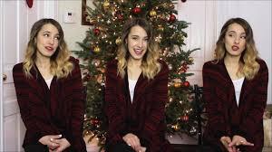 rockin u0027 around the christmas tree cover by bailey pelkman youtube