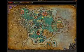 World Of Warcraft Maps by Handynotes Draenortreasures Map U0026 Minimap World Of Warcraft