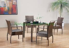 Rattan Kitchen Table by Online Get Cheap Rattan Dining Room Furniture Aliexpress Com