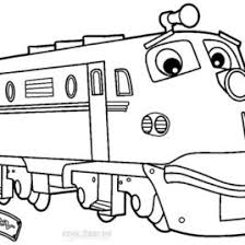 printable chuggington coloring pages kids cool2bkids wilson