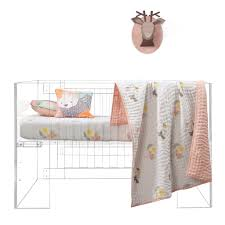 Living Color Nursery by Soft Luxury Nursery Bedding For The Modern Baby