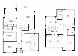 one story two bedroom house plans glamorous two story 6 bedroom house plans gallery best inspiration