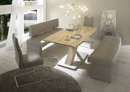 Esszimmertisch Design Säulentisch Ataro C 2xl Bootsform Tisch Ausziehbar X Form Esstisch