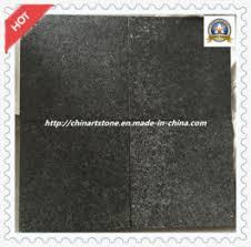 china grey black flamed granite floor tile for outside room