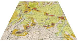 Colorado Counties Map Of 03 09 Geologic Map Of The Greenland Quadrangle Douglas And El