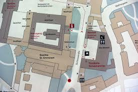 Regensburg Germany Map by Basilika Saint Emmeram Regensburg Germany Ozcc