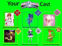 Ninja Meme - your power rangers ninja steel cast meme used by cmanuel1 on