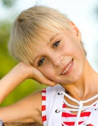 practical and easy care hairstyles for women in their forties 20 best ideas of short pixie haircuts for little girls