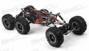 exceed rc 1 8 scale 6x6 madtorque rock crawler 2 4ghz ready run