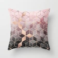 Throw Pillows Geometric Throw Pillows Society6