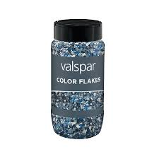 shop valspar blue paint color flakes actual net contents 10 fl