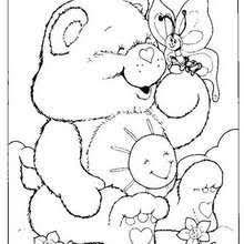 carebears coloring pages free kids coloring pages