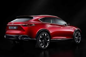 mazda suv cars mazda koeru concept previews upcoming cx 7 suv