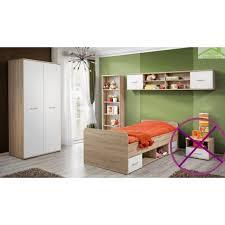 chambre a enfant chambre à coucher complète pour enfant 4 pièces en chêne sonoma et
