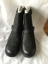 womens ugg grandle boots ugg australia grandle black leather boots womens 9 ebay