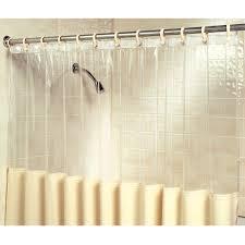 48 Inch Shower Curtain New Set 2 Clear View Antimicrobial Germicidal Bath 48 Inch