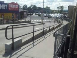 Stainless Steel Handrails Brisbane Shopping Centre Handrails Brisbane Dark Horse Engineering