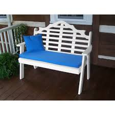 a u0026l furniture co poly 5 u0027 marlboro garden bench rocking furniture