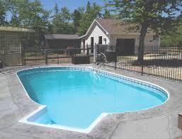 exterior design modern semi inground pools with cozy belgard