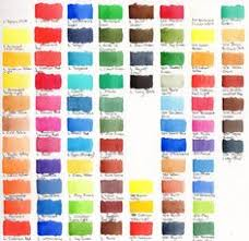 watercolour swatches a few brands wetcanvas art inspiration