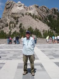 on the road with al and ev wyoming mt rushmore wall drug and