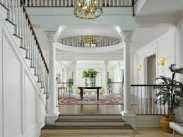 georgian home interiors staircase and columns in a georgian style mansion in greenwich