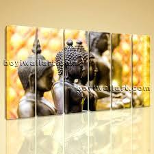 wall ideas buddha zen modern contemporary abstract art painting