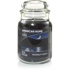 american home by yankee candle moonlit night candle 19 oz large