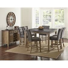 Silver Dining Room Set by Amazon Com Steve Silver Company Debby Counter Chair Beige Set