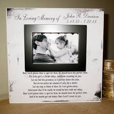 remembrance picture frame personalized in loving memory wedding by wordsofwisdomnh