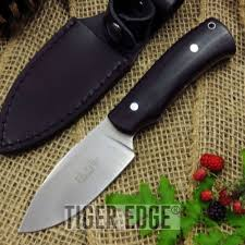 fixed blade knife elk ridge bushcraft black wood hunt tactical