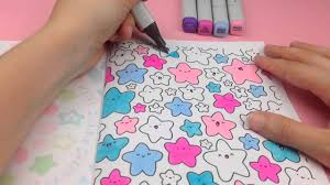 Home Design Doodle Book by Kirakira Coloring Book Star Doodle Youtube