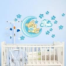 stickers chambre bébé stickers chambre bébé ourson pour un sommeil épanoui