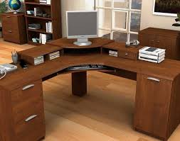 Computer Desk With Hutch Desk L Shaped Desk With Keyboard Tray Beautiful Computer Desks